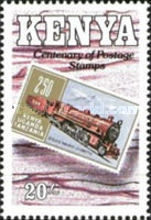 [The 100th Anniversary of First Issued Stamps of British East Africa, type TK]