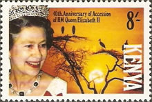 [The 40th Anniversary of Queen Elizabeth II's Accession, type TZ]