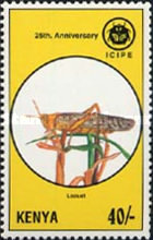 [The 25th Anniversary of I.C.I.P.E. - Insect Pests, Typ XF]