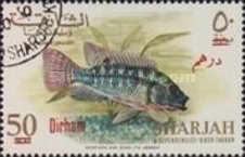 [Fish - Previous Issues Surcharged, type BG3]