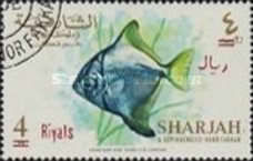 [Fish - Previous Issues Surcharged, type BI3]