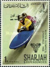 [Airmail - Winter Olympic Games - Grenoble, France, type CR]