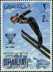 [Airmail - Winter Olympic Games - Grenoble, France, type CS]