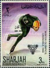 [Airmail - Winter Olympic Games - Grenoble, France, type CT]