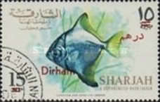 [Fish - Previous Issues Surcharged, type NI2]
