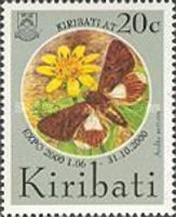 """[World's Fair """"EXPO 2000"""" - Hannover, Germany - Issues of Issues of 1994 Overprinted """"KIRIBATI AT EXPO 2000 1.06-31.10.2000"""", type LC1]"""
