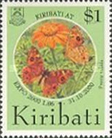 """[World's Fair """"EXPO 2000"""" - Hannover, Germany - Issues of Issues of 1994 Overprinted """"KIRIBATI AT EXPO 2000 1.06-31.10.2000"""", type LM1]"""