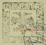 [Double-Headed Eagle - Handstamped, tyyppi A1]