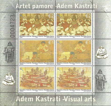 [Paintings - The 80th Anniversary of the Birth of Adem Kastrati, 1933-2000, Typ ]