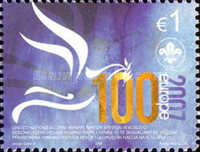 [EUROPA Stamps - The 100th Anniversary of Scouting, Typ BL]
