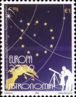 [EUROPA Stamps - Astronomy, Typ DT]