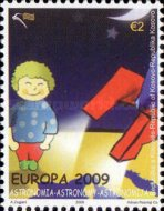 [EUROPA Stamps - Astronomy, Typ DU]