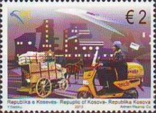 [EUROPA Stamps - Postal Vehicles, Typ IE]