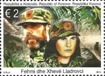 [The 16th Anniversary of the Death of Fehmi Lladrovci, 1950-1998 & Xhevë Lladrovci, 1955-1998, Typ JV]