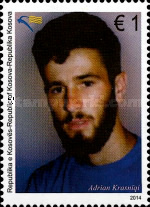 [The 17th Anniversary of the Death of Adrian Krasniqi, 1972-1997, Typ JW]