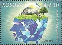 [EUROPA Stamps - Think Green, type LP]