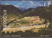 [EUROPA Stamps -  Palaces and Castles, type NF]