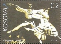 [The 45th Anniversary of the National Ballet of Kosovo, Typ OD]