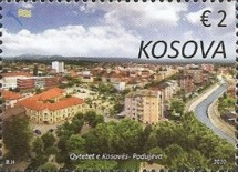 [Cities of Kosovo - Views of Podujeva, type RI]