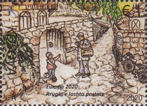 [EUROPA Stamps - Ancient Postal Routes, type RV]