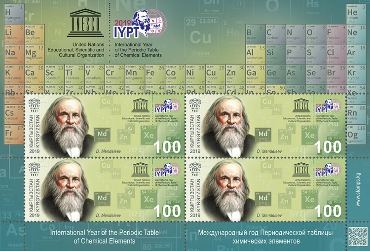 [International Year of the Periodic Table, Typ ]