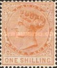 [Queen Victoria - No. 6A with Different Perforation, type A14]