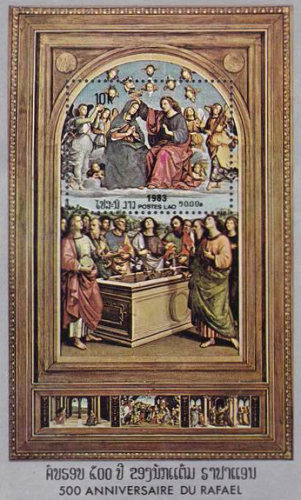 [The 500th Anniversary of the Birth of Raphael, Typ ]