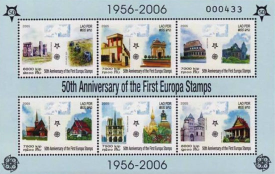 [The 50th Anniversary of Europa Stamps 2006, Typ ]