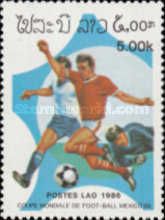 [Football World Cup - Mexico 1986, Typ AHD]