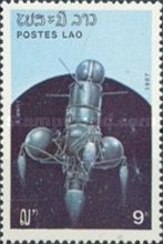 [The 30th Anniversary of Launch of First Artificial Satellite, Typ ALG]