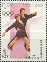 [Winter Olympic Games - Albertiville, France, type ATS]