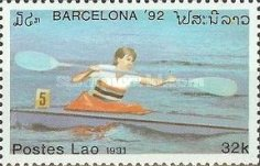 [Olympic Games - Barcelona, Spain, Typ AUY]