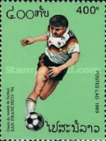 [Football World Cup - U.S.A. (1994), Typ BAK]