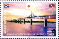 [Mekong Frendship Bridge - Joint Issue with Thailand, Typ BYM]