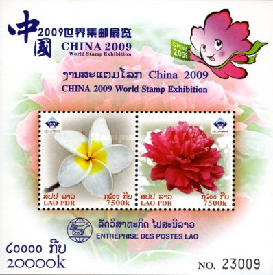 [International Stamp Exhibition CHINA 2009 - Luoyang, China, Typ CCE]