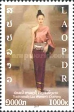 [Traditional Lao Women´s Clothing, type CJD]