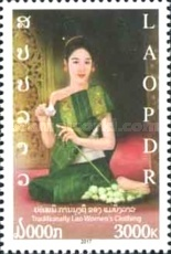 [Traditional Lao Women´s Clothing, type CJF]
