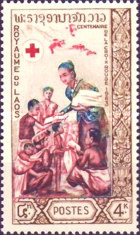 [The 100th Anniversary of the International Red Cross, type EC]