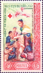 [The 100th Anniversary of the International Red Cross, type ED]
