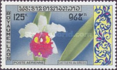 [Airmail - Laotian Orchids, Typ LC]
