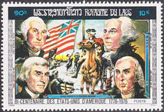 [The 200th Anniversary of the Independence of the United States of America - Presidents, Typ PJ]