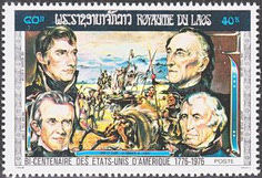 [The 200th Anniversary of the Independence of the United States of America - Presidents, Typ PL]