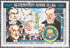 [The 200th Anniversary of the Independence of the United States of America - Presidents, Typ PO]