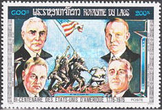 [The 200th Anniversary of the Independence of the United States of America - Presidents, Typ PQ]
