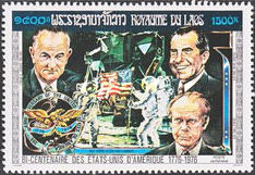 [Airmail - The 200th Anniversary of the Independence of the United States of America - Presidents, Typ PS]
