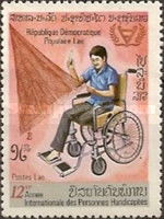 [International Year of Disabled Persons, Typ ST]