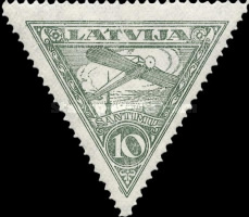 [Airmail - Different Watermark, Typ B3]