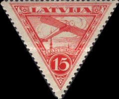 [Airmail - Different Watermark, Typ B4]