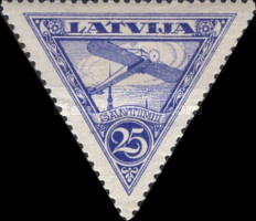 [Airmail - Different Watermark, Typ B5]