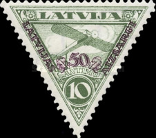 [Airmail - Not Issued Stamps Overprinted